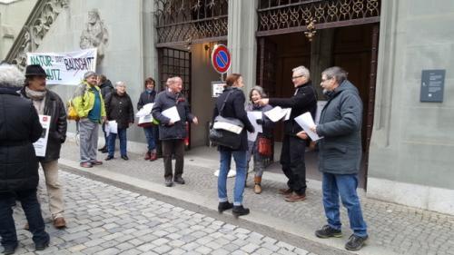 protest vor dem Rathaus März 2018 (2)