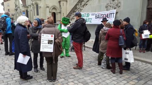 protest vor dem Rathaus März 2018 (3)