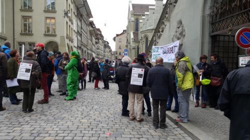 protest vor dem Rathaus März 2018 (4)